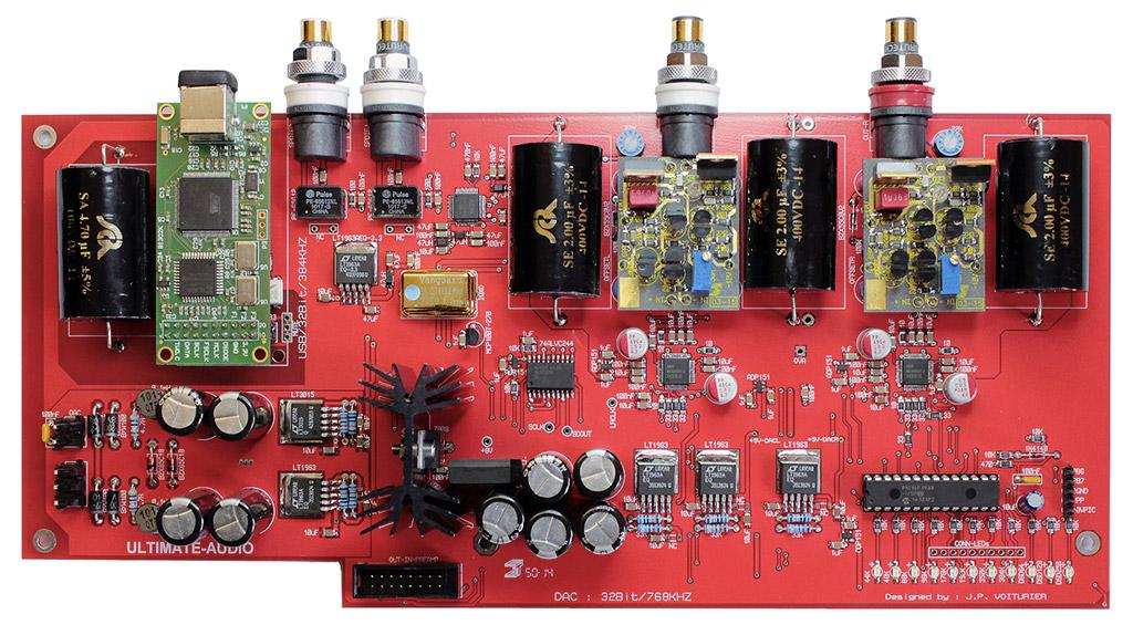 Pré-amplificateur P-100 : Focus DAC carte interne